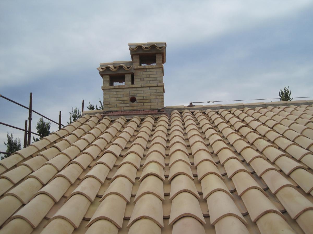 Linea vita su tetto a falde